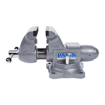 JPW Industries Tradesman 1765 Vise, 6-1/2 in Jaw Width, 4 in Throat Depth, 360 Swivel (1 EA/EA)