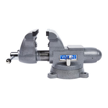 JPW Industries Tradesman 1780A Vise, 8 in Jaw Width, 4-3/4 in Throat Depth, 360 Swivel (1 EA/EA)