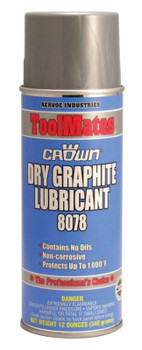Aervoe Industries Dry Graphite, 12 oz Aerosol Can (12 CAN)
