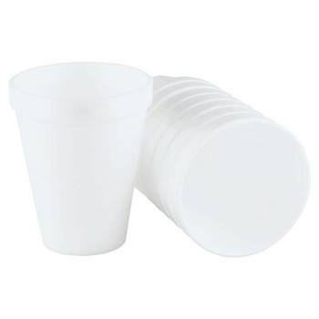 Dart Container Corp. Foam Cups, 10 oz, White (1 CA)