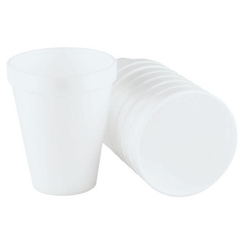 Dart Container Corp. Foam Cups, 10 oz, White (1 CA)