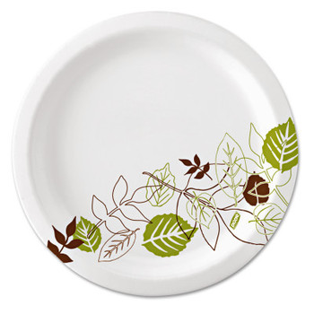 Dixie GP PRO Heavy-Weight Paper Plates, 2 Compartments (500 CA/CA)