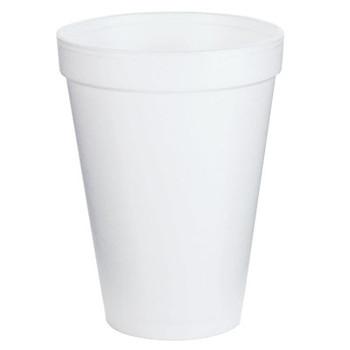 Dart Container Corp. Foam Cups, 12 oz, White (1 CA)