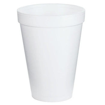 Dart Container Corp. Foam Cups, 12 oz, White (1 CA)
