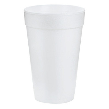 Dart Container Corp. Foam Cups, 16 oz, White (1 CA)