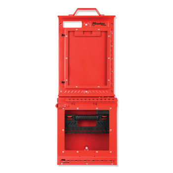 Master Lock Lockout Station, Unfilled, General Lockout/Tagout, 31 in x 12-1/8 in (1 EA/CA)