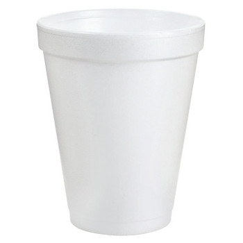Dart Container Corp. Foam Cups, 8 oz, White (1 CA)