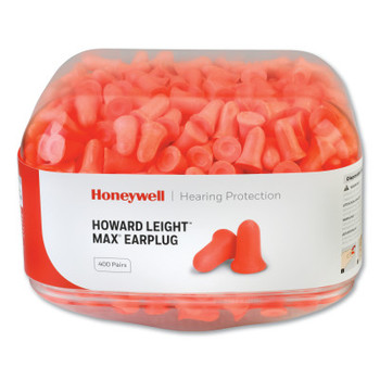 Honeywell Earplug Dispenser Refills, Canister, Coral, MAX (1 CA/CS)