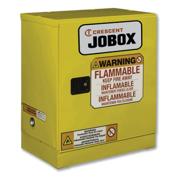 Delta Consolidated 12 Gallon Flammable Manual Close Safety Cabinet - Yellow (1 EA/CA)