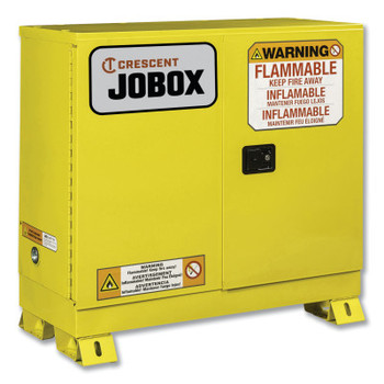 Delta Consolidated 30 Gallon Flammable Manual Close Safety Cabinet - Yellow (1 EA/CA)
