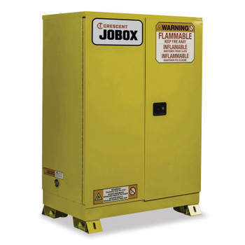 Delta Consolidated 45 Gallon Flammable Manual Close Safety Cabinet - Yellow (1 EA/EA)