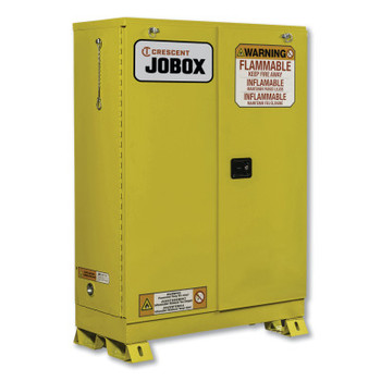 Delta Consolidated 45 Gallon Flammable Self-Closing Safety Cabinet - Yellow (1 EA/EA)
