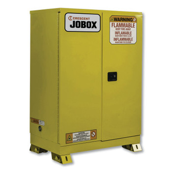 Delta Consolidated 60 Gallon Flammable Manual Close Safety Cabinet - Yellow (1 EA/EA)
