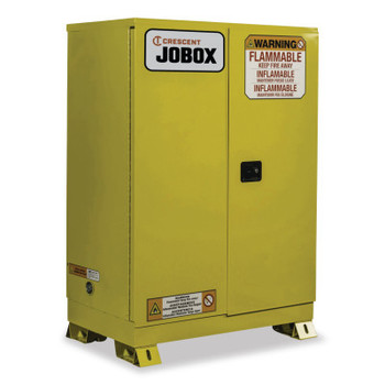 Delta Consolidated 90 Gallon Flammable Manual Close Safety Cabinet - Yellow (1 EA/EA)
