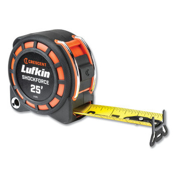 "Apex Tool Group Shockforce Tape Measure, 25'x1-3/16"" (1 EA/BX)"
