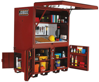 Apex Tool Group Heavy-Duty Field Office, 63W x 42D x 80H, 3 Doors (1 EA)