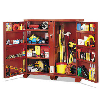 Apex Tool Group Extra Heavy-Duty Cabinets, 60 1/8W x 24 1/4D x 60 3/4H, 2 Doors (1 EA)