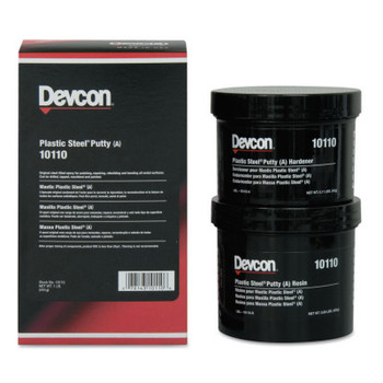 Devcon Plastic Steel Putty (A), 1 lb Can (1 EA)