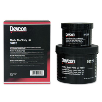 Devcon Plastic Steel Putty (A), 4 lb Kit (1 EA)