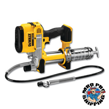 DeWalt Cordless Grease Guns, 14 oz, 10,000 psi, Hose (1 EA/CA)