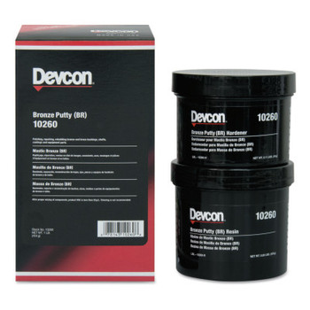 Devcon Bronze Putty (BR), 1 lb Tub (1 EA)