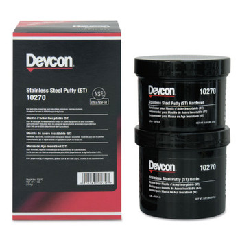 Devcon Stainless Steel Putty (ST), 1 lb Can (1 EA)