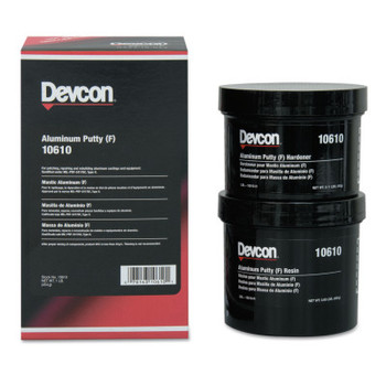 Devcon Aluminum Putty F, 1 lb Can (1 EA)