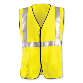 OccuNomix L Hi-Viz Yellow WestexDH Modacrylic/Aramid Flame Resistant Vest (1 EA/BOX)