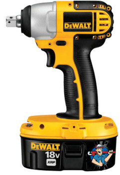 "DeWalt Cordless Impact Wrench, 1/2"" 20V Mid-Range, with Detent Pin Anvil (Tool Only) (1 EA/EA)"