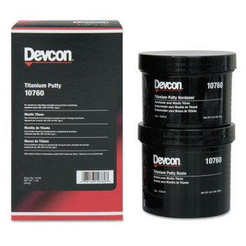 Devcon Titanium Putty, 1 lb Can (1 EA)