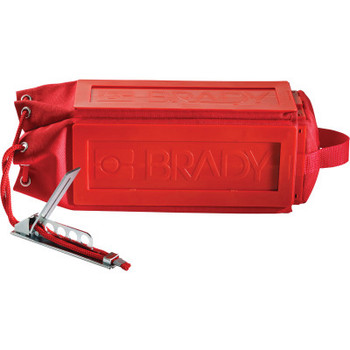 Brady Pendant Control Safety Cover 5.25 in W x 11 in L Red (1 EA/CA)