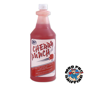 Zep Inc. Cherry Punch Industrial Strength Liquid Hand Cleaner, 1 qt Squeeze Bottle (12 CA/CA)