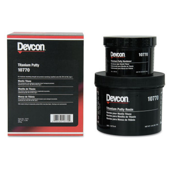 Devcon Titanium Putty, 2 lb Tub (1 EA)