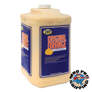 Zep Inc. Original Orange Industrial Hand Cleaner, 1 gal Jug, DISP/Pump Not Included (4 CA/BOX)