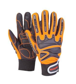 Honeywell Rig Dog CR Gloves, Cold Weather, 9L, Brown/Orange (1 PR/CA)