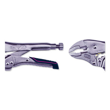 Stanley Products Reduced Hand Span Fast Release 10-in Automotive Curved Jaw Locking Pliers (1 EA/CA)