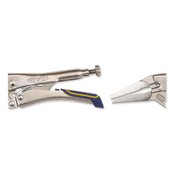 Stanley Products Fast Release Long Nose Locking Pliers with Wire Cutter (1 EA/EA)