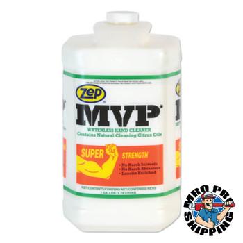 Zep Inc. MVP Heavy-Duty Waterless Hand Cleaner, 1 gal Jug, DISP/Pump Not Incl (4 CA/CA)