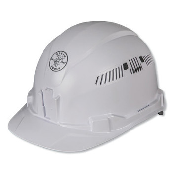 Klein Tools Hard Hat, Vented, Cap Style (1 EA/CT)