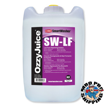 CRC OzzyJuice SW-LF Low Foam Degreasing Solution, 5-gal Jug (5 PA/EA)