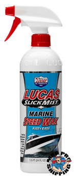 Lucas Oil Slick Mist Marine Speed Wax, 24 Ounce (12 BTL / CS)