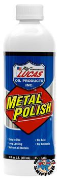 Lucas Oil Metal Polish, 1 Pint (12 BTL / CS)