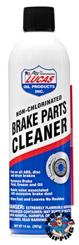 Lucas Oil Brake Parts Cleaner Aerosol 45 % VOC, 14 fl oz. (12 BTL / CS)