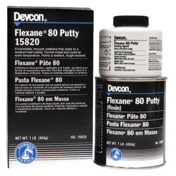 Devcon Flexane 80 Putty, 1 lb Can (1 EA)