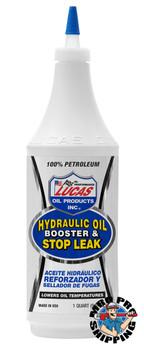 Lucas Oil Hydraulic Oil Booster & Stop Leak, 1 Quart (12 BTL / CS)