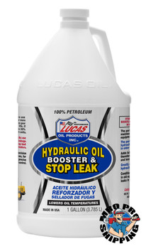 Lucas Oil Hydraulic Oil Booster & Stop Leak, 1 Gallon (4 BTL / CS)