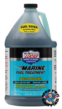 Lucas Oil Marine Fuel Treatment, 1 Gallon (4 BTL / CS)