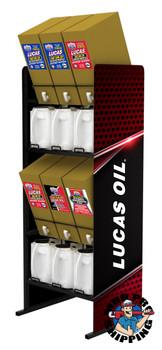Lucas Oil BIB OIL RACK- Holds 6X6 Gallon Boxes (1 EA)