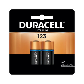 Duracell Duracell Batteries, Lithium Cell, 3 V, 123 (2 EA)