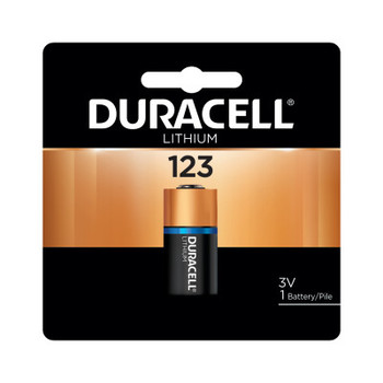 Duracell Duracell Procell Batteries, Lithium Cell, 3 V, 123 (6 PK)